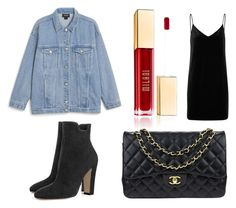 """Street&Pretty"" by cserebecca ❤ liked on Polyvore featuring rag & bone/JEAN, Monki and Chanel"