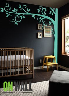 Tree Wall Decal  Nursery Wall Decoration  Tree by ONWALLstudio, $96.00