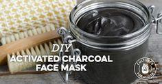 Activated Charcoal Face Mask #CharcoalMaskFace #CharcoalMaskBeforeAndAfter #BakingSodaAndCoconutOil #BlackheadPeelMask #CharcoalMaskPeel Activated Charcoal Face Mask, Charcoal Mask Peel, Avocado Face Mask, Cleansing Mask, Peel Off Mask, Homemade Face Masks, Skin Care, Tumeric Face