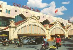 The Market Dong Xuan. Asian Market, Hanoi Vietnam, Street View, Marketing