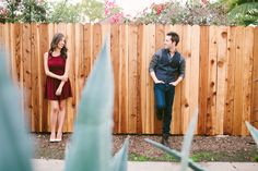 Colleen and Joshua // Los Angeles Engagement These two be so cute!