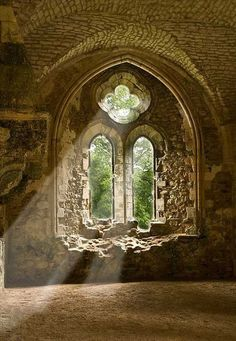 Netley Abbey, England photo via bonnie