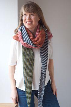 Corners, Edges, Stripes Shawl by Martina Behm http://www.ravelry.com/patterns/library/corners-edges-stripes
