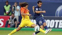 Playing keep away from PSG! #9ineSports @Puyol