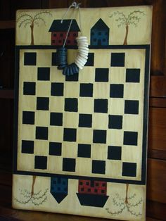 Saltbox House Checkerboard