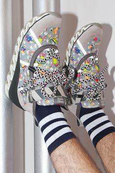 Bernhard Willhelm x Camper x OC, fashion, style, sneakers, sport chic