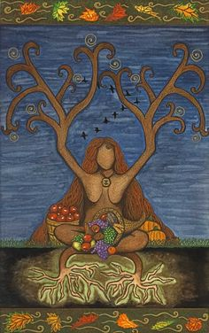 Mabon takes place on or near the Autumn Equinox, and is considered the second harvest. Mabon, Samhain, Spirit Art, Symbole Viking, Autumnal Equinox, The Embrace, Sabbats, Beltane, Summer Solstice