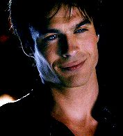 Classic Damon and his fangs