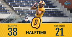 - Gaels with the lead at half. Catch the action on OUA.tv