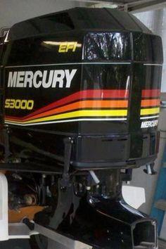 Race outboards Power Boats, Speed Boats, Bass Fishing, Fishing Boats, Outboard Boat Motors, Mercury Marine, Bay Boats, Boat Engine, Mercury Outboard