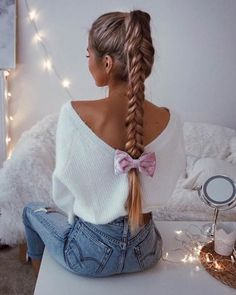 Top 60 All the Rage Looks with Long Box Braids - Hairstyles Trends Box Braids Hairstyles, Pretty Hairstyles, Girl Hairstyles, Wedding Hairstyles, Hairstyles Tumblr, Teenage Hairstyles, Romantic Hairstyles, Fantasy Hairstyles, Perfect Hairstyle