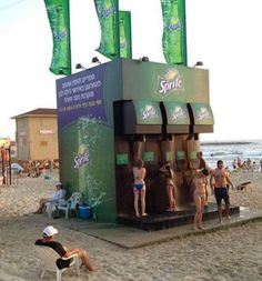Sprite marketing campaign. Clever idea!