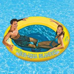 Poolmaster Sub-Aqua Islander Inflatable from Target on Catalog Spree Inflatable Floating Island, Pool Floats, Pool Toys, Water Toys, Wakeboarding, Cool Pools, The Ranch, Summer Fun, Summer Pool