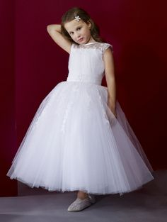 8defc5e62aa Flower Girl Dress 301 by Macis Design Girls Designer Dresses