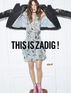 Zadig & Voltaire campaign SS17 by Fred Meylan with Vera Vanerp