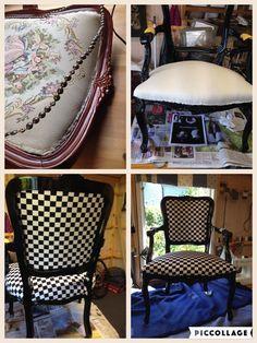 Nytt liv for gammel stol
