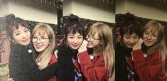 Same-age chingu!! Seulgi bear and seungwan-ah