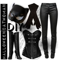 Catwoman dresses idea.... I don't really care for her but hey, I have the pants and boots already....