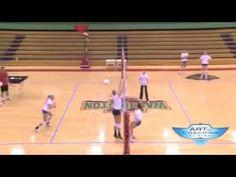 Hitter Vs Blocker Drill Volleyball Training Volleyball Drills Volleyball Drills For Beginners