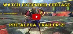 Watch the Pre-Alpha Trailer 2 extended in-game footage of #TheMFL.