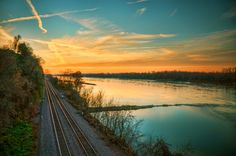 'West Along The Missouri' ~ Hermann, MO