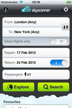 The most flexible and powerful flight search app in the world.
