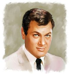 Tony Curtis by shahin