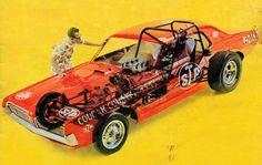 Mercury Cougar Funny Car cutaway diagram