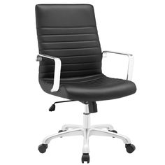 Finesse Mid-back Office Chair - Overstock™ Shopping - Great Deals on Modway Office Chairs