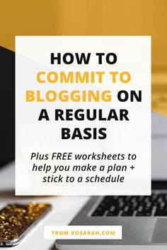 Here's how to stay on track and make blogging a priority so you can post weekly and start seeing your blog traffic and social media followers grow!