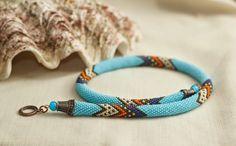 Strange things for strange people: bead crochet rope