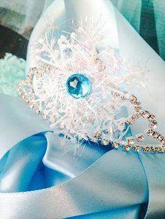 Frozen Inspired Elsa Crown Tiara by PoshPixieTutu on Etsy, $19.99