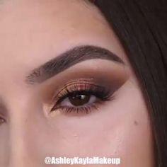 Makeup Eye Looks, Eye Makeup Steps, Eye Makeup Art, Beautiful Eye Makeup, Natural Eye Makeup, Smokey Eye Makeup, Skin Makeup, Maquillage On Fleek, Makeup Looks Tutorial