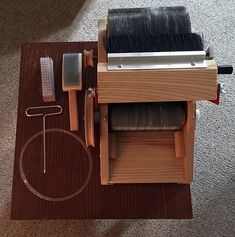 One of our Strauch Petite Drum Carders has found a new home on the Handmade by Stefanie blog!