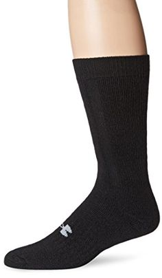 Under Armour Cushion Boot Socks, Black, Large (10-13) Under Armour http://www.amazon.com/dp/B001TOLLYK/ref=cm_sw_r_pi_dp_pDlVvb0EFPP20