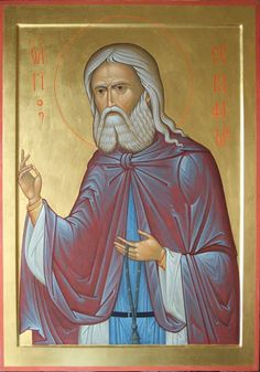 Saint Seraphim of Sarov Whispers of an Immortalist: Icons of the Venerables 8