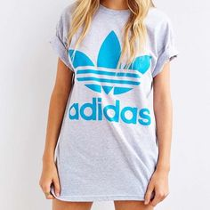 Adidas Mirror Logo Tee Cotton tee with Adidas logo on front, and mirrored backwards on the back of shirt. Adidas Tops Tees - Short Sleeve