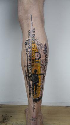 BERLIN Graphic style Tattoos ♢ Appointments via Koittattoo@ Cool Forearm Tattoos, Hand Tattoos For Guys, Leg Tattoo Men, Best Tattoos For Women, Badass Tattoos, Body Art Tattoos, Sleeve Tattoos, Cool Tattoos, 27 Tattoo