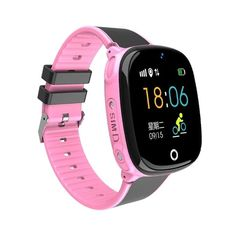 2019 New Waterproof Smart Safe Gps Location Remote Camera Sos Call Monitor Wristwatch Finder Tracker Watch For Kids Child Waterproof Camera, Waterproof Watch, Wearable Device, Wearable Technology, Camera Watch, Pink Watch, Remote Camera, Smart Bracelet, Beautiful Watches