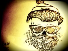 #Hipster drawing !!!