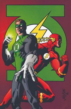 Flash and Green Lantern