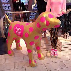 New 2018 Summer China Victoria/'s Secret Pink Black Mini Dog