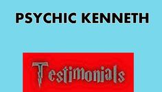 The Most Powerful Psychic, Astrologer, Reiki Healer Kenneth