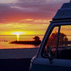 Liked on InstaGram: Missing Florida 🌅 #lesaventuresdenestor #combi #kombi #roadtrip #vwcamper #vw #volkswagen #adventure #buslife #vanlife #vanlifer #vintagecamper #adventuremobile #westylife #homeiswhereyouparkit #florida #sunset