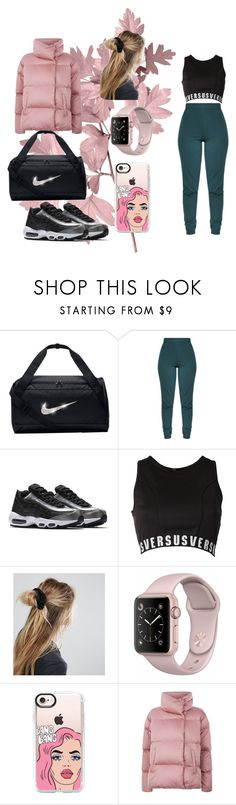"""Sport Winter ⚪⚪⚪"" by fanila69140 ❤ liked on Polyvore featuring NIKE, Versus, ASOS, Casetify and Weekend Max Mara"