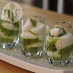 Kiwi Dessert im Glas @ de.allrecipes.com