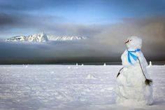 snowman with an altitude