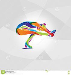 Silueta Multicolora Muchacha El Hielo Del Patinaje Artístico - Descarga De Over 65 Millones de fotos de alta calidad e imágenes Vectores. Inscríbete GRATIS hoy. Imagen: 71677071