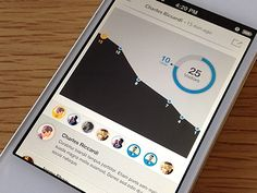 Data visualization is getting more popular as a means for users to understand information. As mobile usage increases, knowing how to do data visualization on Mobile Web Design, Dashboard Design, App Ui Design, User Interface Design, Flat Design, App Design Inspiration, Design Ideas, Interactive Design, Data Visualization