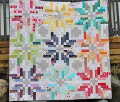 "For Fall Quilt Market, Camille Roskelly of Simplify  released a gorgeous quilt pattern called "" Norway "". I immediately added it to my ""one ..."